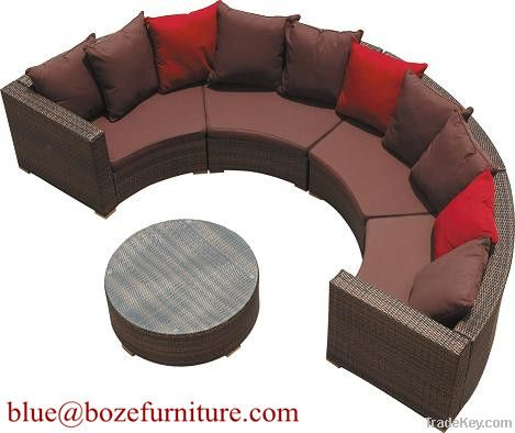 Patio Furniture Good Quality Rattan / Wicker Sofa Set BZ-SF005