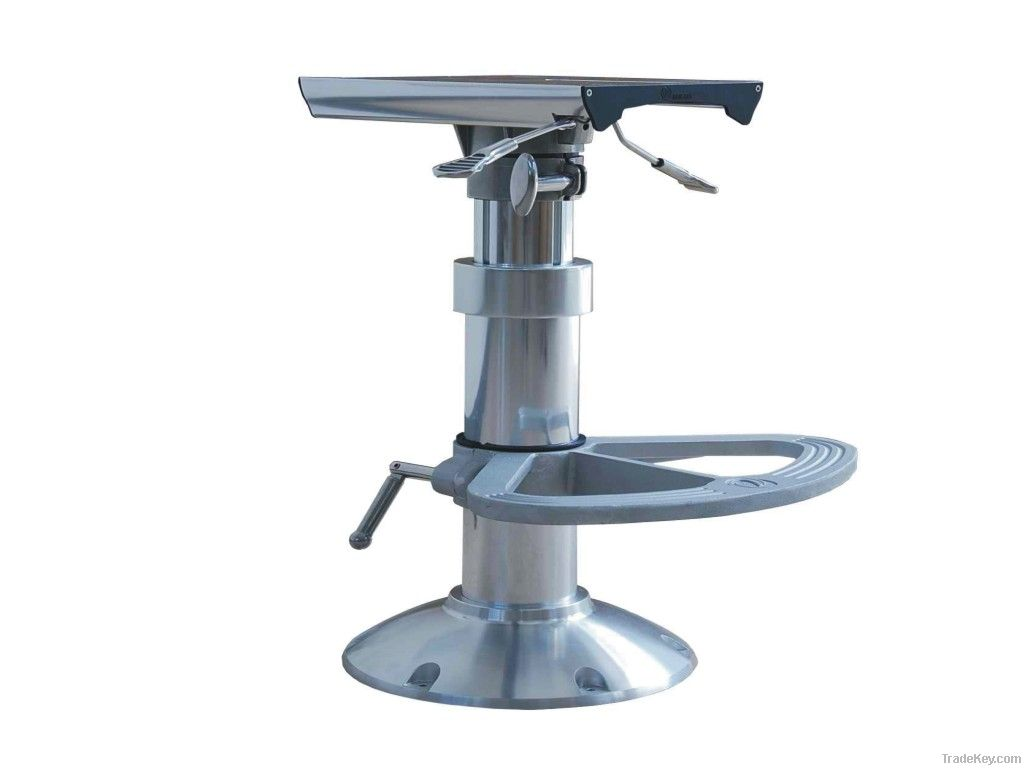 marine adjustable wedge swivl seat boat pedestals kits new attwood height pedestal unique eze of power