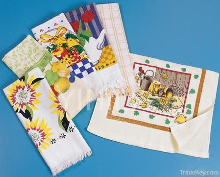 Kitchen Tea Towels (Cotton Printed)