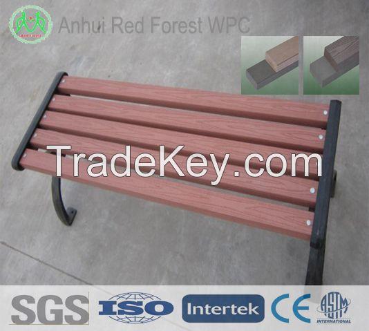 wpc garden chair/bench, wood plastic outdoor funiture chair/wpcbench/chair,wpc composite bench