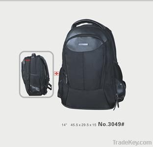 Imitation Leather Laptop Backpack