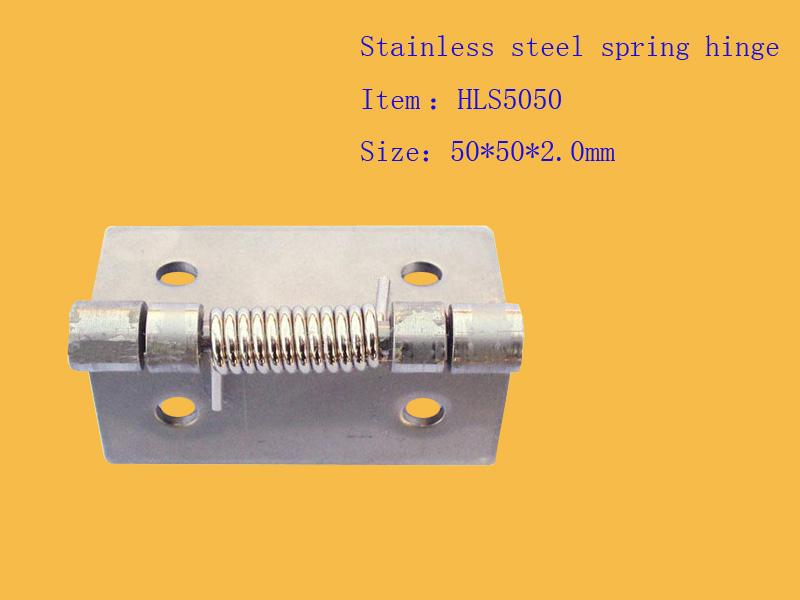 spring heavy hinge, stainless steel spring hinge
