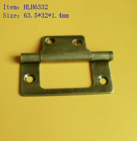 iron flush hinge