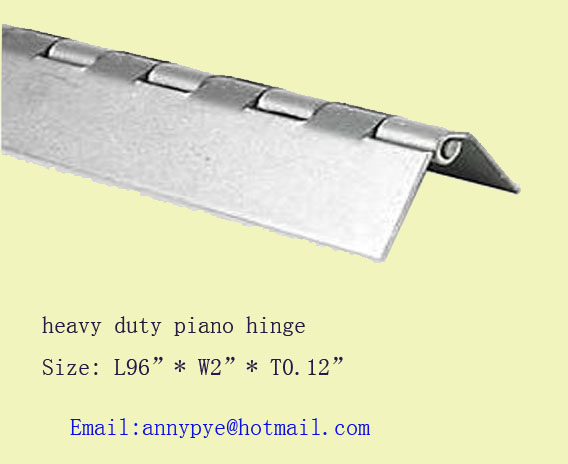 heavy duty piano hinge