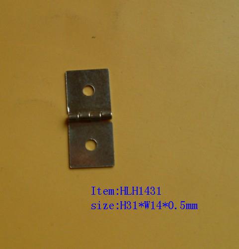 double hole small hinge