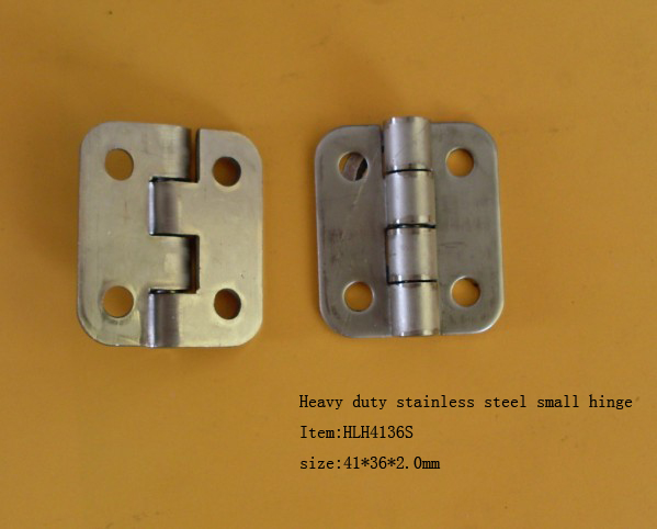 heavy duty stainless steel small hinge