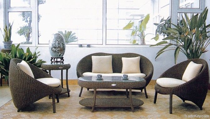 rattan furniture, wicker sofa sets