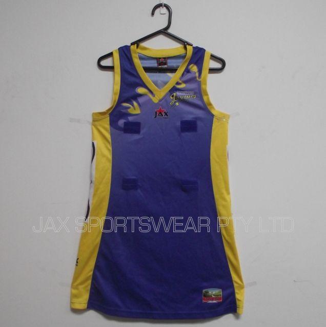 custom design sublimation printing  netball dress , netball bodysuit