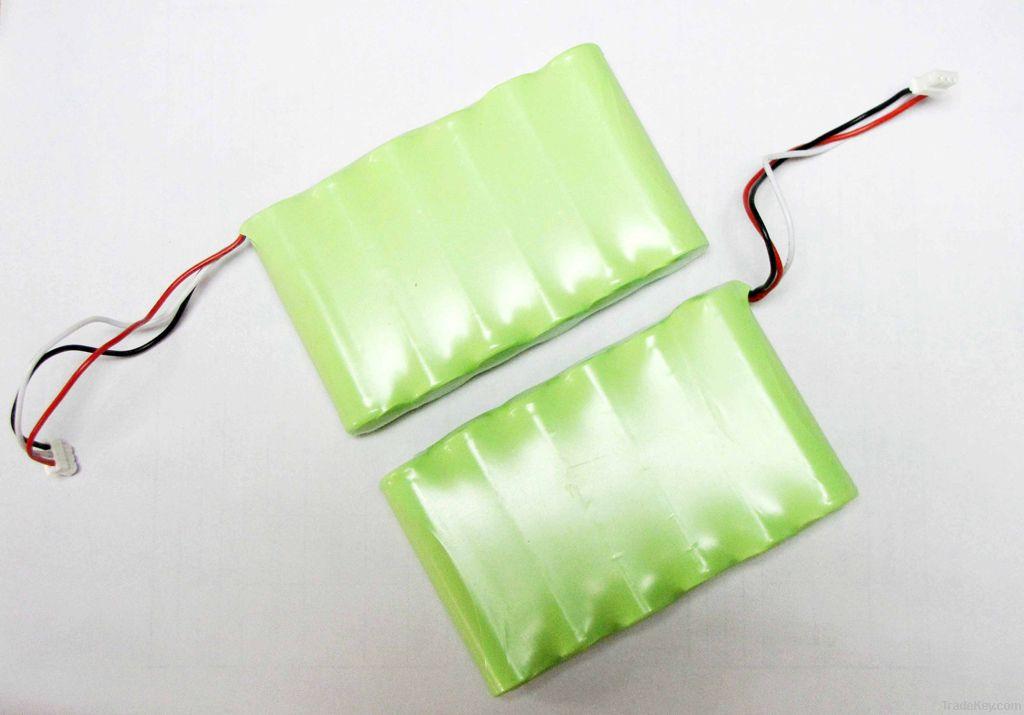 Ni-MH 18650 battery pack 3800mAh*6 7.2V