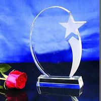 Crystal Trophy, Crystal  Plaque , Crystal Award, Crystal Gift