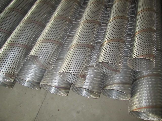 Aluminum metal net