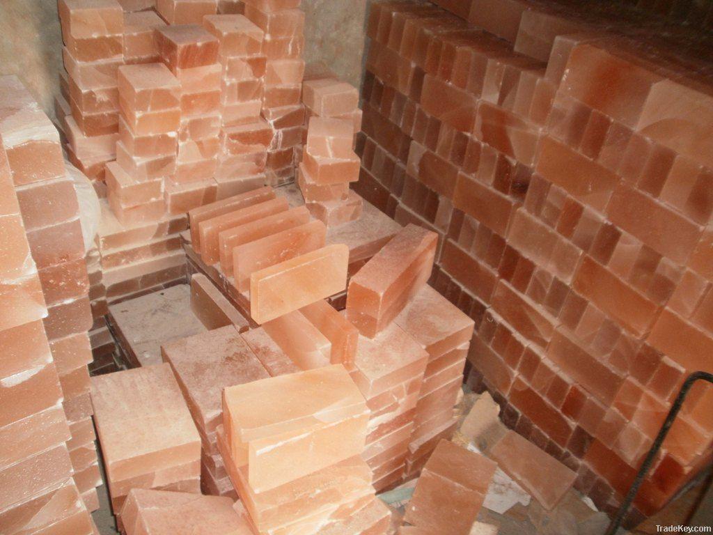 Rock Salt Bricks and Tiles