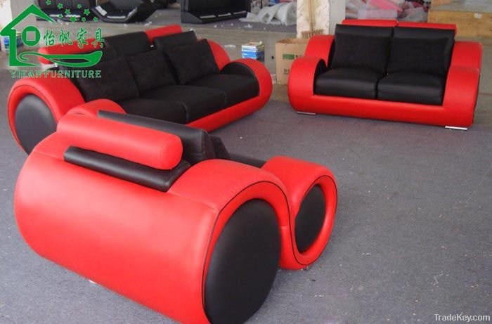Leather Sofa YF-YT27