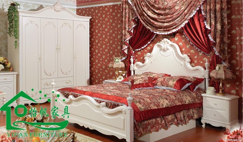 Pastoral Bedroom Furniture/Bedroom Furniture YF-J611