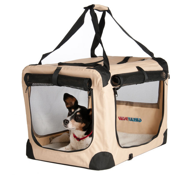 Great Paw Villa Soft Dog Crate