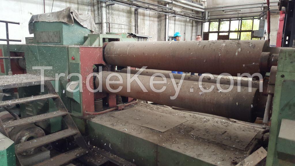 Roll bending machine PIESOK XZMP 12 x 2000 mm