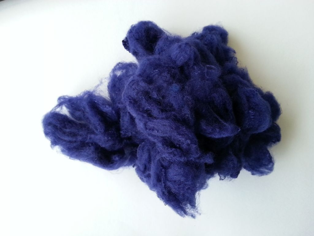 Blue Polyester Staple Fiber Grade