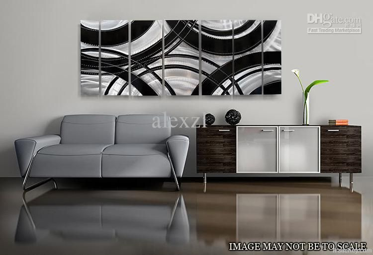 Oil Painting art metal paintings wall home Decor Metal Modern Abstract