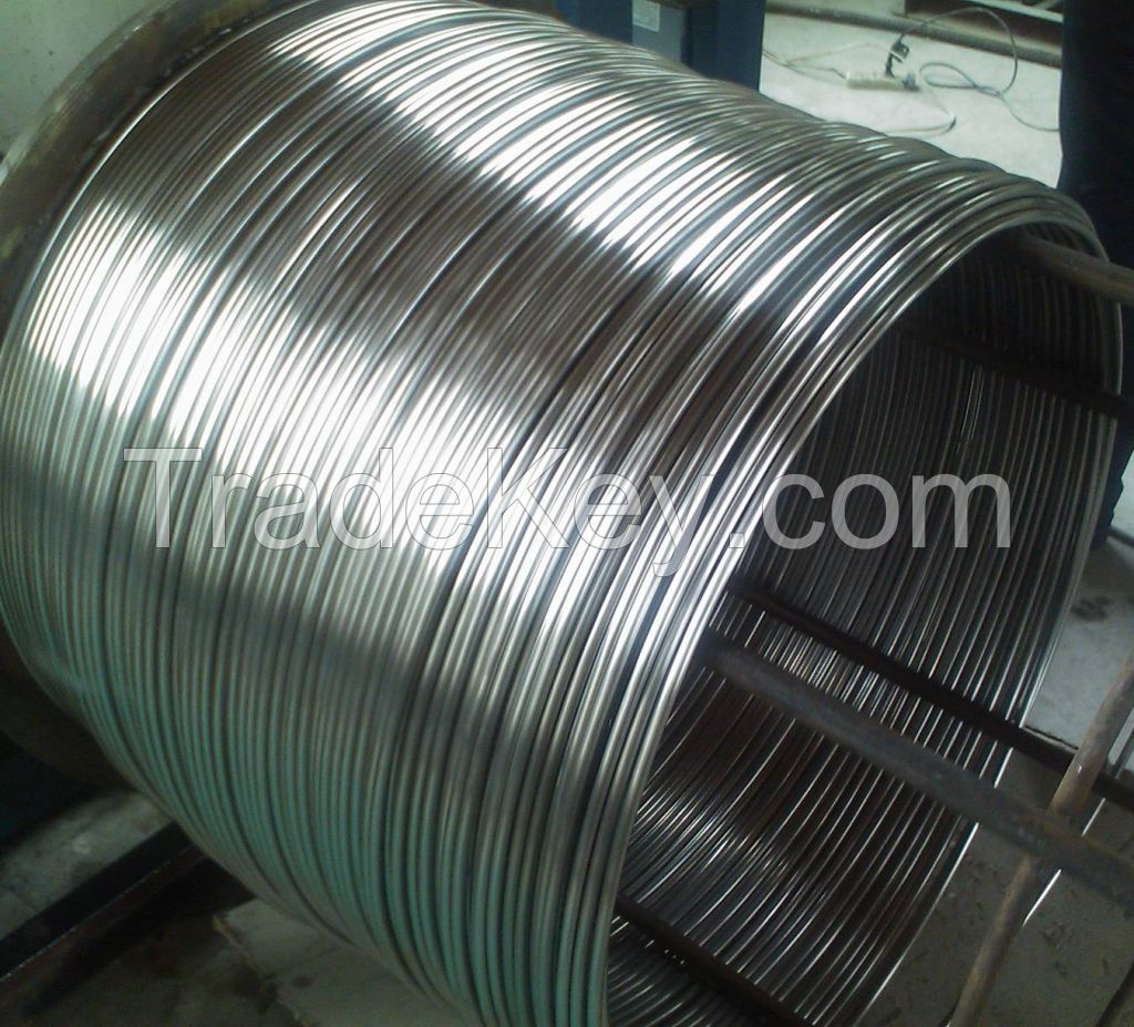 Capillary tube, control lines, Cop Line