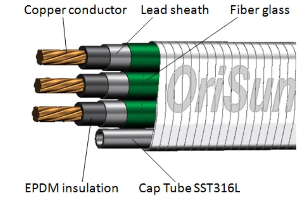 QYEL5F-CT 3/8 Cable, 5kv, 450F