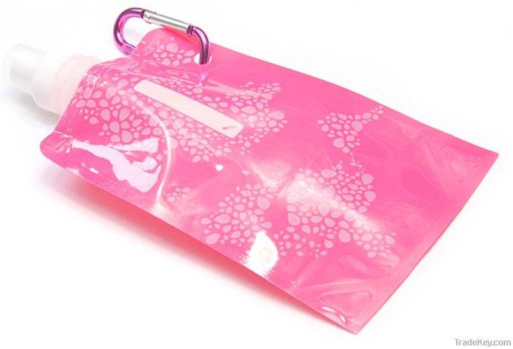 New Style foldable/portable enviroment Vapur water bottle