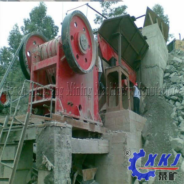 High efficiency mineral equipments jaw crusher