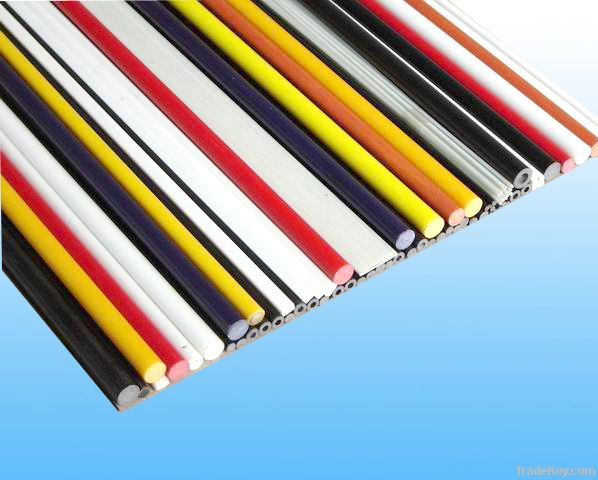 colorful kinds of fiber glass products