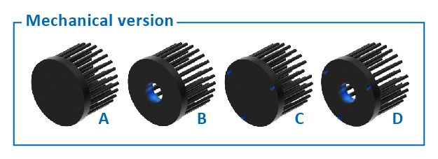 LED Pin Fin Heat Sink - LPF Series