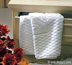 Cotton Hotel jacquard towel