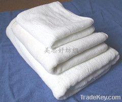 Cotton plain woven towel