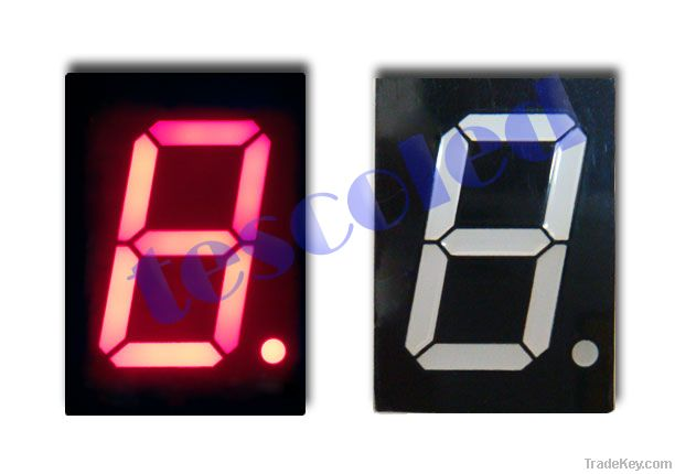 wholesale 1000pcs single digit 1.00' inch 7 segment LED display