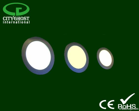 LED SMD IP44 classII remote controlled dimmable Round Panel 18, 24, 30cm