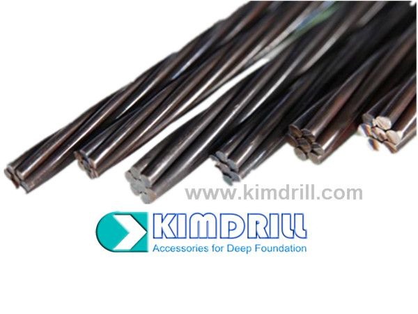 Kimdrill prestressing strand steel