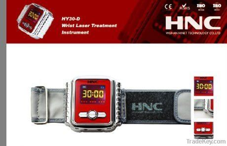 CE approved wrist cardio-cerebrovascular disease laser therapy device