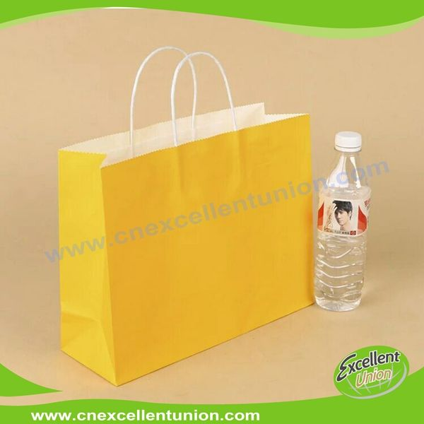 Kraft paper packaging bag Take Away bag Paper Bags Paper Shopping bag Customized Delivery Paper Bag