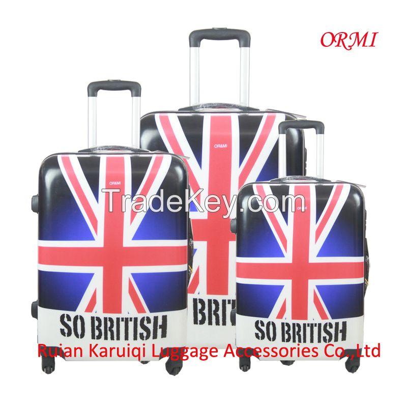 cheap soft eva travel trolley luggage
