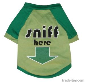 pet dog summer mesh tshirt clothes