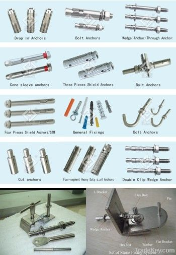wedge anchor(anchor fixing system)