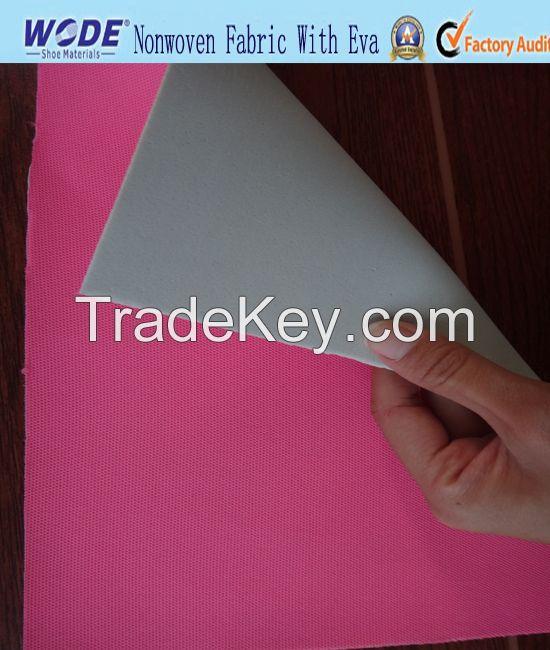 Fabric with EVA Foam, Fabric laminated with EVA/Sponge.coatting material