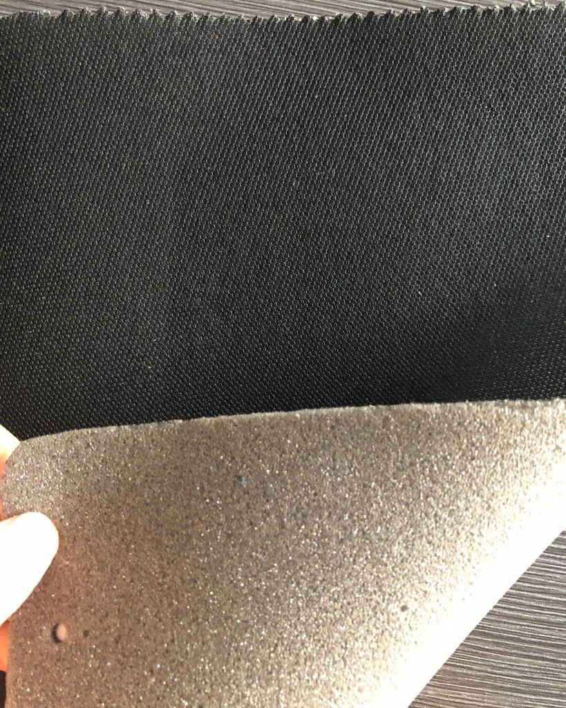Nonwoven Fabric laminated with Sponge Foam for shoes lining