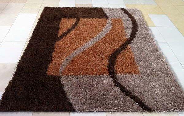 china knotts polyester shaggy carpets