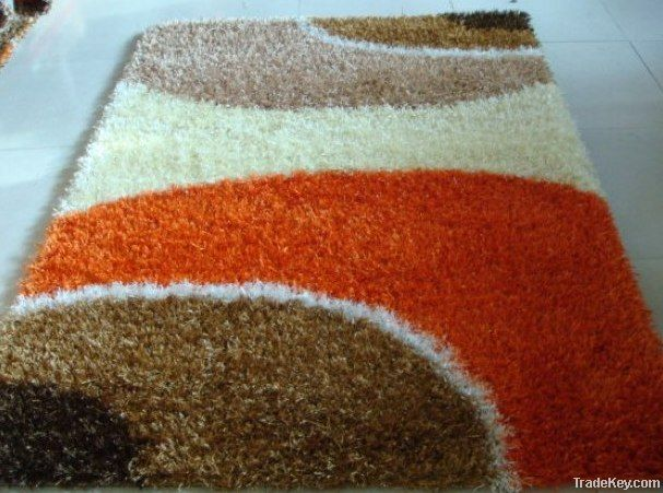 china knotts polyester shaggy carpets