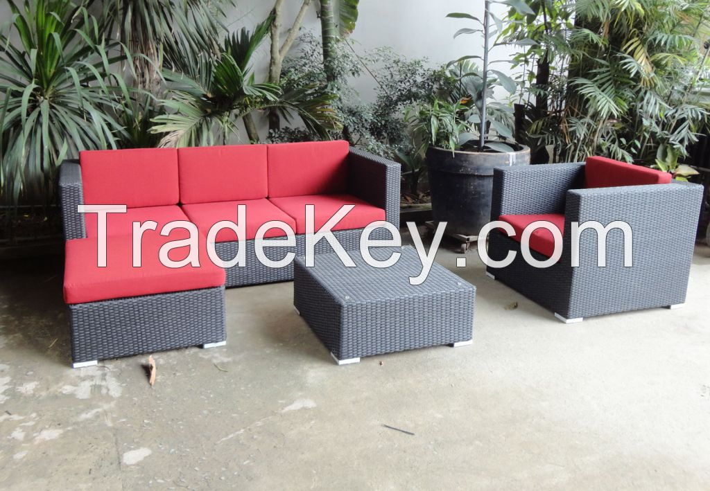 Resin wicker furniture, outdoor rattan furniture, plastic wicker furniture
