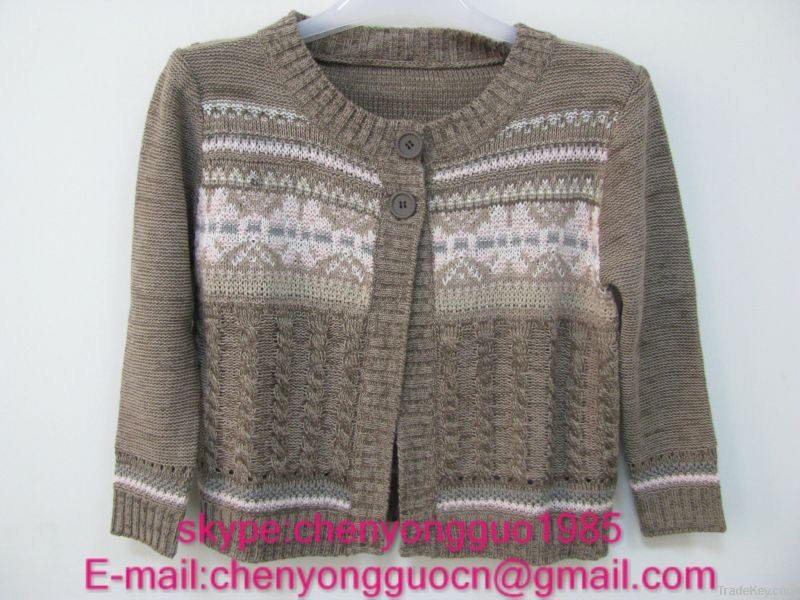 sweater(jacquard, print, sequins)