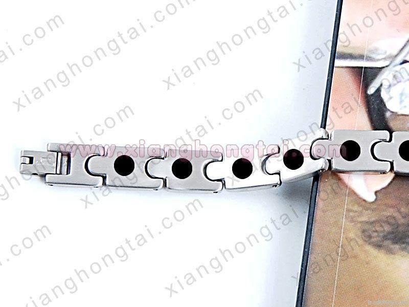 titanium bracelet, Bio titanium magnetic bracelet, jewelry