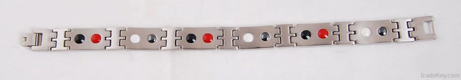 316L stainless steel magnetic jewelry, Bio magnetic titanium bracelets