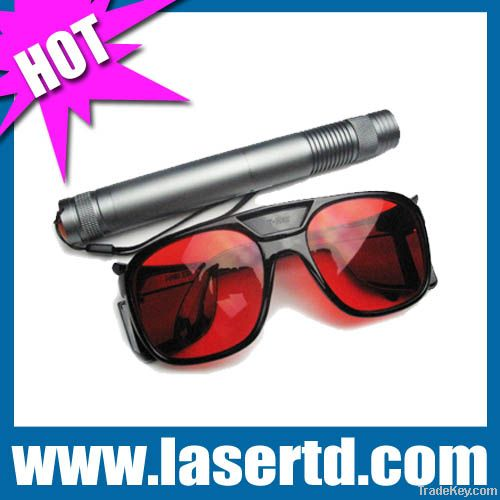 1000mw 450nm blue laser flashlight in aluminum box TD-BP-102