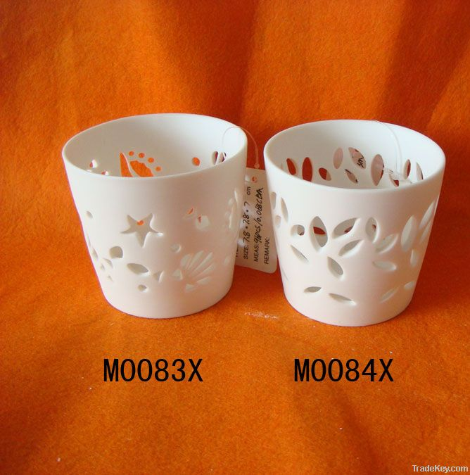 Ceramic Candle Holder, Candle Stand, Tea Light Holder, Sconce