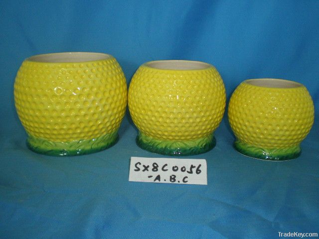Flower Pot, Ceramic Pot, Porcelain Pot, Flower Vase