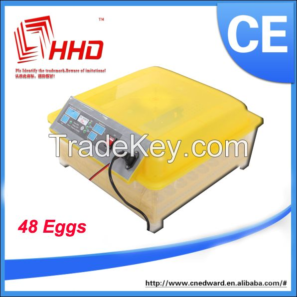 2014 new model fully automatic chicken egg incubator CE passed
